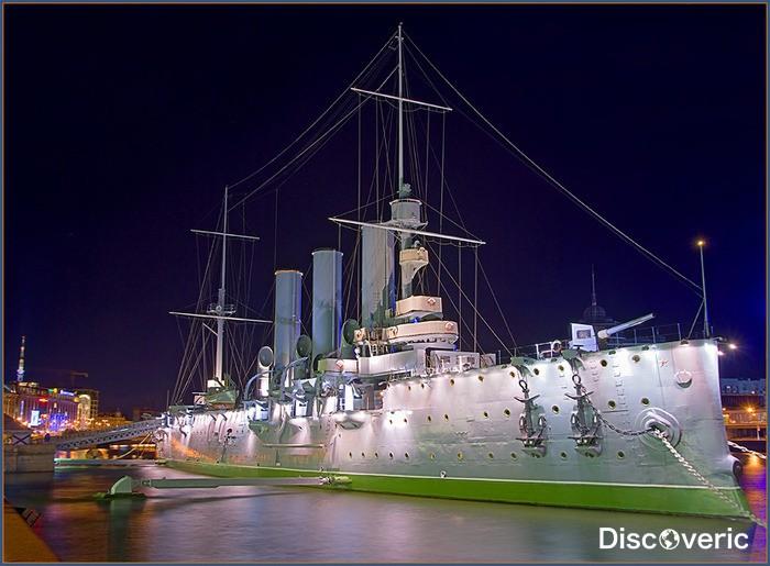 С чем связан крейсер аврора