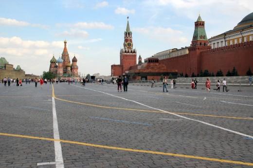 Красная площадь. Москва → Архитектура