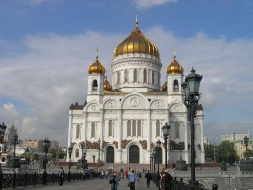 Храм Христа Спасителя. Москва → Архитектура
