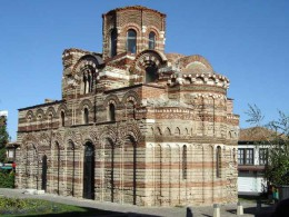 Церковь Христа-Пантократора. Несебр → Архитектура