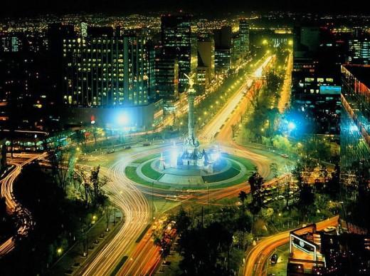Мехико - столица Мексики. Федеральный округ Мехико → Архитектура
