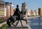 Памятник хану Кенесары, Астана, Казахстан