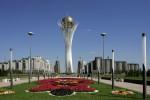 Монумент Астана-Байтерек, Астана, Казахстан