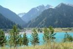 Озеро Иссык, Заили́йский Алата́у, Казахстан