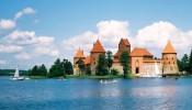Тракайский замок на полуострове, Тракай, Литва