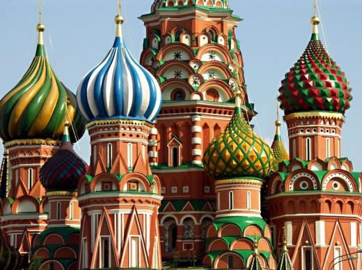Собор Василия Блаженного. Москва → Архитектура