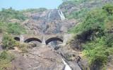Водопад Дудхсагар, Гоа, Индия